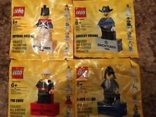 LEGO RETRO BRICKTOBER MAGNET SET OF 4 BRAND NEW & SEALED