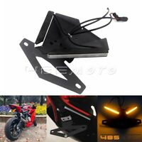 Motorcycle LED Tail Tidy Fender Eliminator Kit For Ducati 959 1199 1299 Panigale