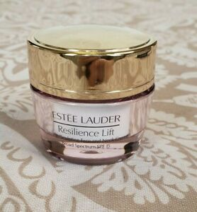 ESTEE LAUDER Resilience Lift Firming/Sculpting Face & Neck Creme .5 oz Skin Care