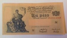 Argentina Banknote. One Pesos. Dated 1947