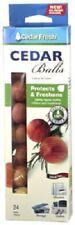 "Household Essentials, 48 Count, 7/8"" Diameter, Cedar Moth Balls, Non Toxic"