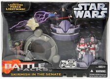 87068 Skirmish in The Senate-Battle Pack Star Wars Hasbro-Shock Trooper Yoda ...
