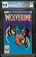 WOLVERINE LIMITED SERIES #2 (1982) CGC 9.8 1st APPEARANCE YUKIO WHITE PAGES