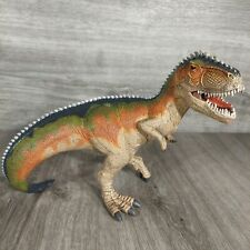 Schleich Giganotosaurus Dinosaur Figure Hinged Jaw 6.5� T-Rex 2014 Euc