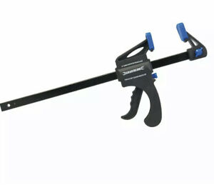 Silverline VC101 Quick Clamp, 300 mm