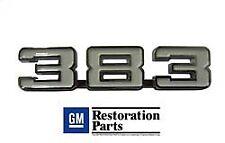 1969 Camaro 1970-1974 Nova Fender Emblem Pair 383 Engine Size EM01-383A
