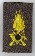 [Militaria] Fregio bust. Regia GdF 2WW giallo tondino