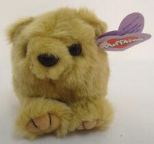 PUFFKINS HONEY BEAR STUFF ANIMALS BEANIE CUTE NEW 1997 COLLECTIBLE TOYS PLUSH