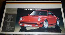 Fujimi 1985 Porsche COUPE 911 #3 1/24 MODEL CAR MOUNTAIN COMPLETE
