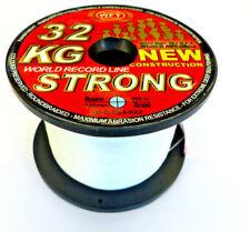 WFT NEW 32KG STRONG TRANS GEFLOCHTENE SCHNUR 0.22mm 600m,auch f NORWEGEN 0,14€/m