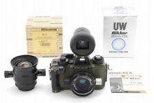 【Exc+++++】 Nikonos V Camera Green w/ 20,28mm Lens DF 12 Finder from Japan #315