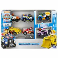 PAW PATROL 6058350 True Metal Classic Gift Pack of 6 Die-Cast vehicles NEW