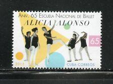 4CUBA  Sc# 5712   ALICIA ALONSO   National  BALLET  Dance  2015  MNH