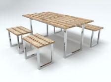 Tischgestell Edelstahl Tischuntergestell, Tischkufe, Kufengestelle, Gartentisch