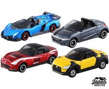 [Tomy Tomica Set] Convertible 4 Models Lamborghini Veneno Roadster S660 Copen