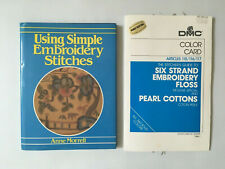 DMC Color Card Stitcher's Six Strand Embroidery Floss 360 Colors+Simple Stitch