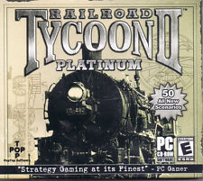 Railroad Tycoon II: Platinum (PC, 2002, PopTop Software, SEALED NEW)