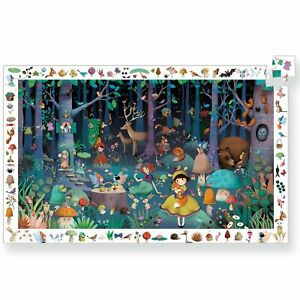 Djeco Puzzle Observation Enchanted Forest 100pc