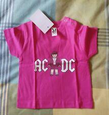 Camiseta AC/DC Playmobil 12 meses niño/niña