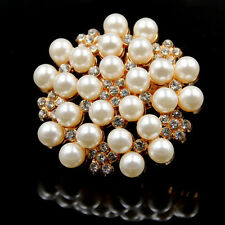 Perlen Strass Elegant Dame Schuhe Clips Dekoration Braut Pumps Abendschuhe Party