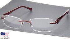 97180ebb3f4 PRODESIGN Denmark 5313 C.4021 Red Eyeglasses Frame 54-17-135 B32mm Japan