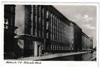 Ansichtskarte Kattowitz Oberschlesien - Technische Schule 1939 - schwarz/weiß