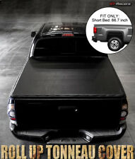 """LOCK & ROLL SOFT TONNEAU COVER 2007-2016 TUNDRA CREW MAX CAB 5.5FT 66"""" SHORT BED"""