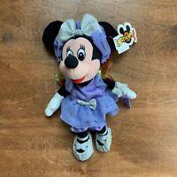 Disney Minnie Mouse Sugar Plum Fairy Mini Bean Bag Plush - New with Tags