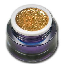 5ml Chrome Sparkle Glitter UV Gel Orange Pop Farbgel Colorgel #01541-15