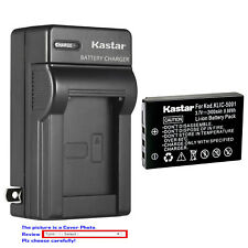 Kastar Battery Wall Charger for Kodak KLIC-5001 & Kodak EasyShare P880 Camera