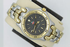 Tag Heuer Watch Mens SEL SS S95.206 WG1120.BB0424 Link S/EL 2-TONE GOLD GRAY