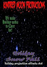 KMP Holiday Snow Fall Beautiful Christmas Decoration Projection TV Effects DVD