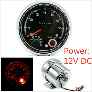 Can Manually Set The Speed Alarm Value Vehicle Modified Tachometer LED Light