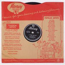 THE CREW CUTS: Carmen's Boogie / Story Untold MERCURY Early Rocker 78 TOP N-