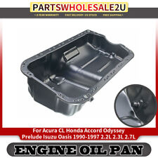 Engine Oil Pan for Acura CL Honda Accord Odyssey Isuzu l4 2.2L 2.3L V6 2.7 90-97