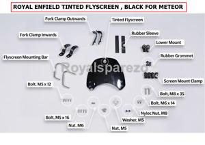 "100% Genuine Royal Enfield METEOR ""TINTED FLY SCREEN"""