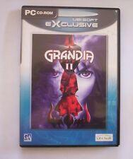 GRANDIA II videogioco pc originale completo GDR 2 cd