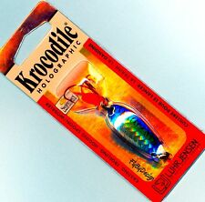 Luhr-Jensen Holographic Krocodile 3/16 oz Blue Mackerel SureSet Fishing Lure