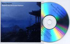 STEVE HACKETT Beyond The Shrouded Horizon 2011 UK 13-trk promo test CD PVC slv