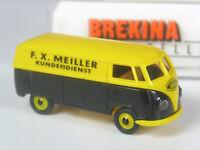 TOP: Brekina VW T1 Kasten F.X. Meiller Kundendienst in OVP