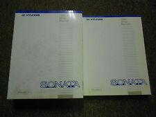1996 HYUNDAI SONATA Service Repair Shop Manual SET FACTORY OEM 2 VOL Sonata