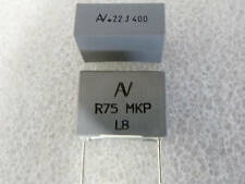 2 condensateur MKP 220nF .22uF 400V 5% Arcotronics R75