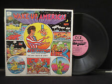 Abbie Hoffman - Wake Up America! on  Big Toe Records BIG TOE1
