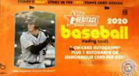 2020 Topps Heritage Minor League Baseball Hobby Box NEW Factory SEALED!