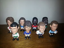 RARE LOT DE 8 FIGURINES FOOTBALL DIFFERENTES ANNEE 1997
