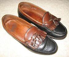 Allen Edmonds Nashua Handsewn Loafers 10D kiltie tassel medium m $325