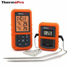 Meat Cooking Probe Thermometer Timer Food Oven Digital Read Temerature Wireless
