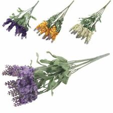 Lavender Dried & Artificial Flower Bunches