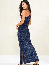 ATHLETA~ABSTRACT PRINT *RACER-BACK* BEACH~SPORTS~RELAXED SLIT MAXI-DRESS~S (4-6)