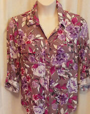 NICE WOMEN'S TOP/SHIRT...SIZE 14..great colours...NEW WITH TAGS.